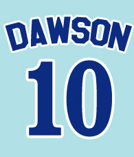 Andre Dawson #10 - Montreal Expos 1976-1986