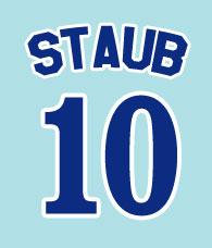 Rusty Staub #10 - Montreal Expos 1969-1971
