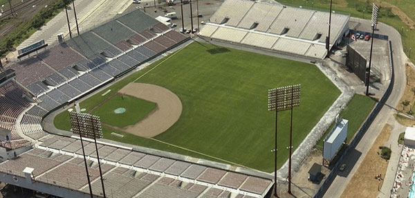 Montreal's Jarry Stadium. Home of the Expos between 1969-1976,